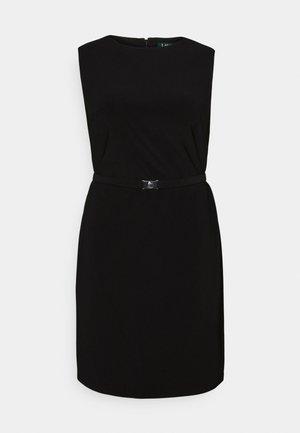 STIELER SLEEVELESS DAY DRESS - Jersey dress - black