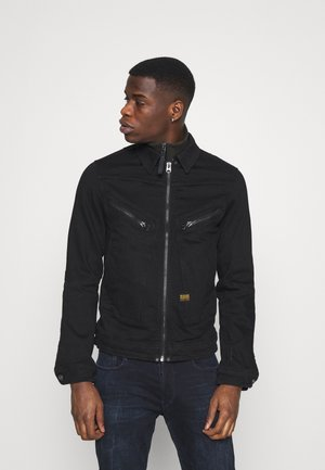 AIR FORCE DENIM - Veste en jean - nero black stretch denim/pitch black