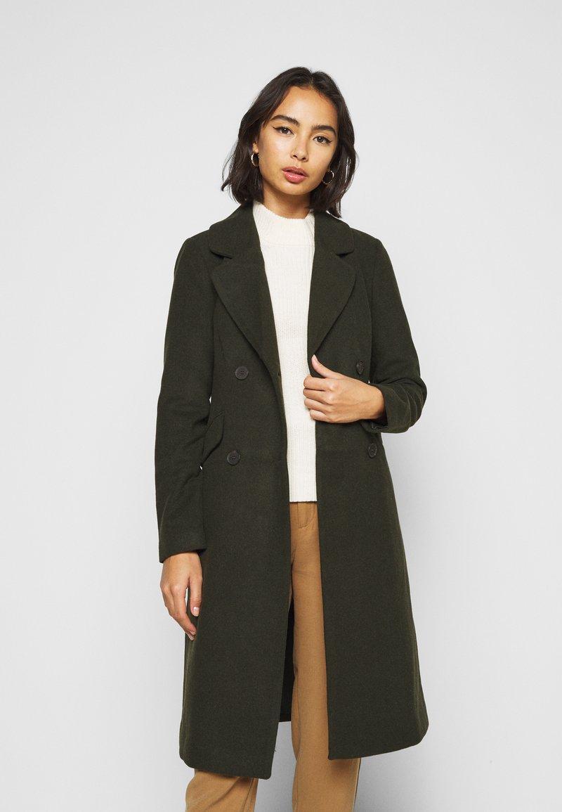 ONLY Petite - ONLLOUIE LIFE COAT - Zimní kabát - rosin