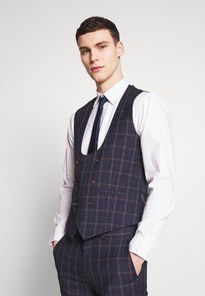 CORTES - Suit waistcoat - navy