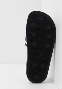adidas Originals - ADILETTE - Mules - core black/footwear white - 5