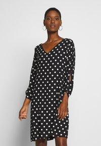 Esprit Collection - MATT SHINY - Day dress - black - 0