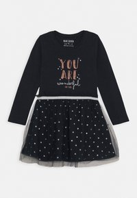 Blue Seven - KIDS TULLE DRESS - Jerseyjurk - dunkelblau - 0