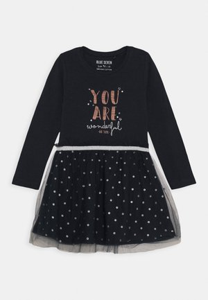 KIDS TULLE DRESS - Žerzejové šaty - dunkelblau