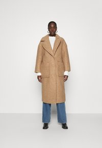UGG - HATTIE LONG COAT - Klasický kabát - camel - 0