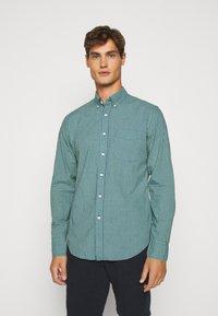 J.CREW - CLASSIC PARKER GINGHAM - Shirt - royal green - 0