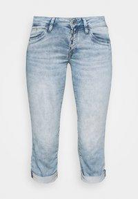 Mavi - ALMA - Denim shorts - light blue denim - 4