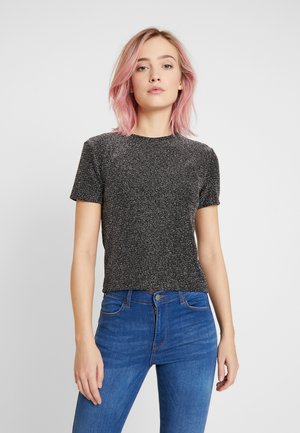 BETH - Print T-shirt - black sparkle