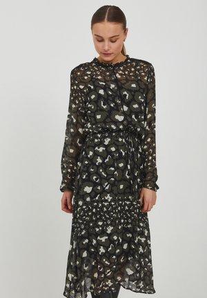 MONICA  - Shirt dress - black printed