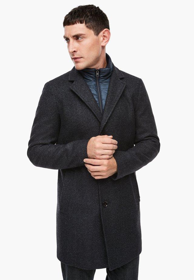 STEPP-INSERT - Winter coat - dark blue melange