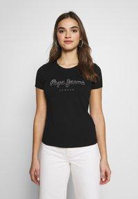 Pepe Jeans - BEATRICE - Print T-shirt - black - 0
