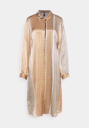 FILUKA DRESS - Shirt dress - brown sugar