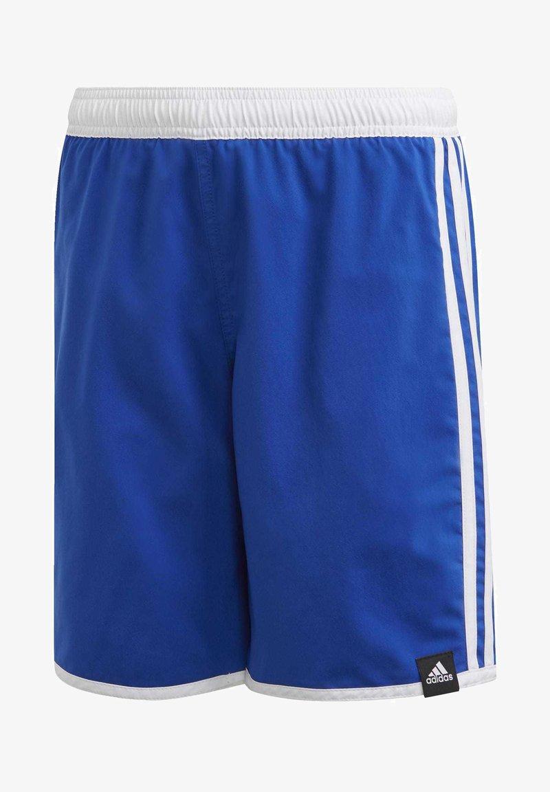 adidas Performance - 3 STRIPES PRIMEGREEN REGULAR SWIM SHORTS - Swimming shorts - blue