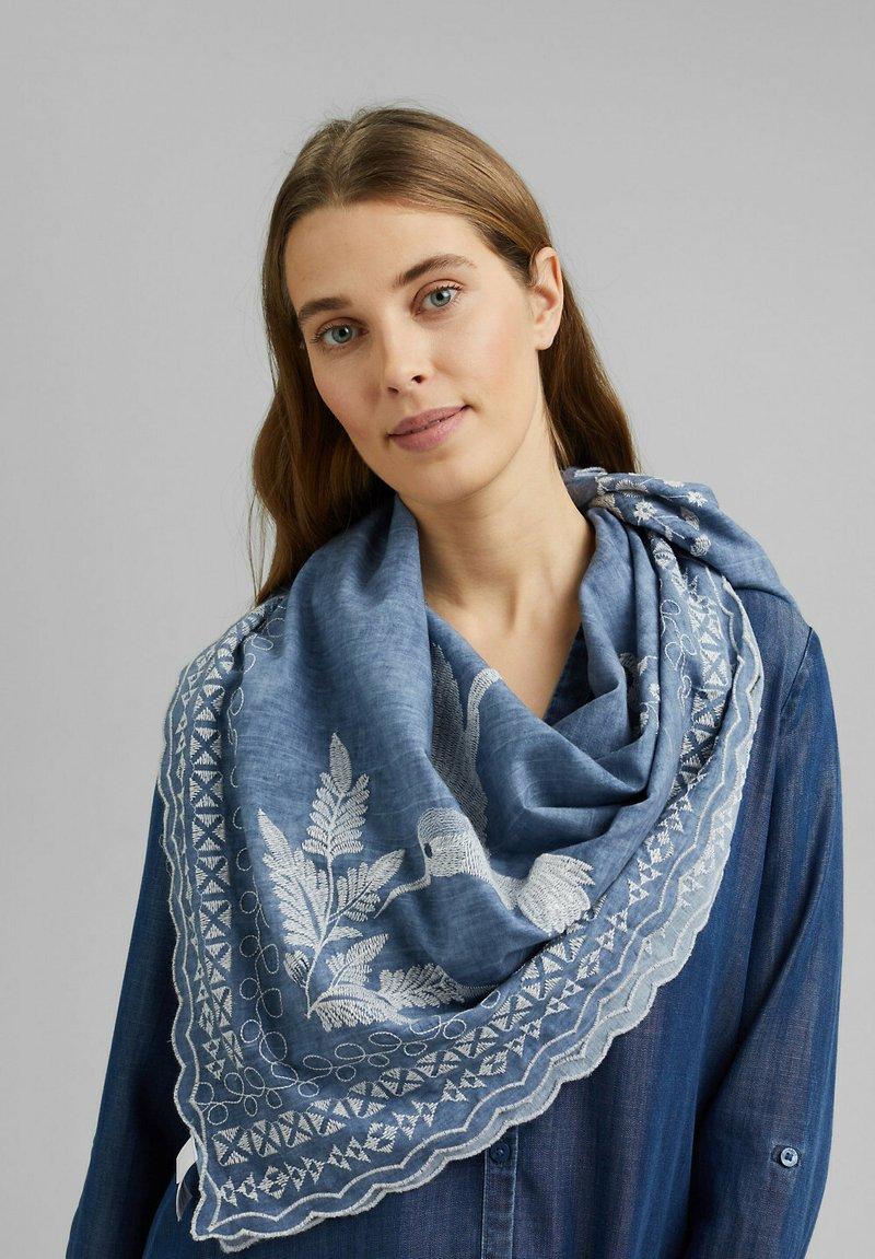 edc by Esprit - Foulard - light blue