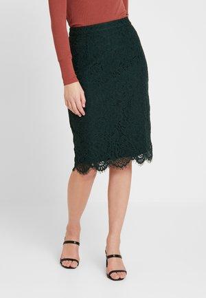 PENCIL SKIRT REPEAT - Pencil skirt - bottle green