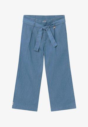 PAPER BAG - Bootcut jeans - indigo