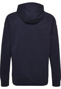 Hummel - HMLGO - Zip-up hoodie - marine - 1