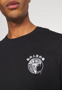 YOURTURN - UNISEX - Print T-shirt - black - 6