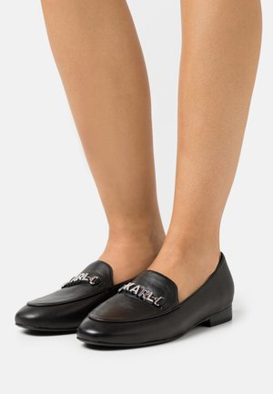 REGENCY LOAFER - Slip-ons - black