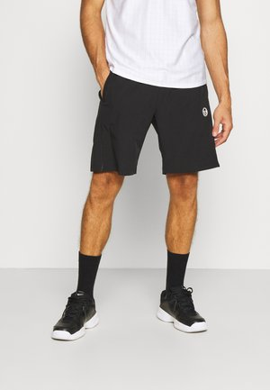 TENNIS YOUNGLINE SHORTS - Sportovní kraťasy - antracite/blanc de blanc