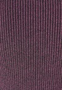 Milly - PLEATED MIDI DRESS - Shift dress - black/pink - 2