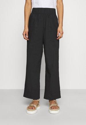 MIZONI - Kalhoty - black