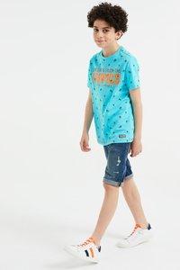 WE Fashion - Print T-shirt - orange - 2