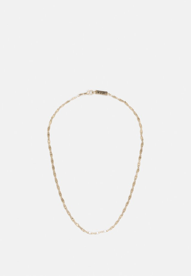 FINE FIGARO CHAIN NECKLACE - Collana - gold-coloured