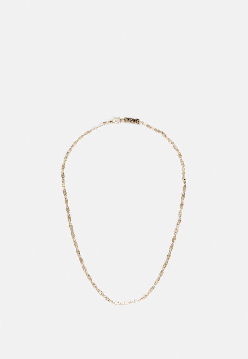 Icon Brand - FINE FIGARO CHAIN NECKLACE - Ketting - gold-coloured