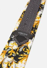 Versace - Tie - bianco/nero/oro - 2