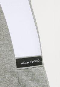Kings Will Dream - VESY MARL TAPE PANT - Tracksuit bottoms - grey - 3