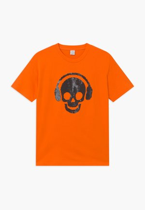 TEENS SKATE FLIP SEQUIINS - T-shirts print - orange