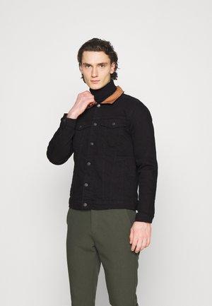KASH JACKET - Denim jacket - black