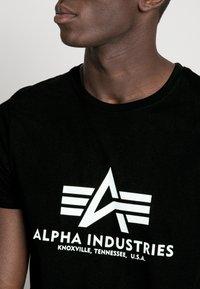 Alpha Industries - Printtipaita - schwarz - 4