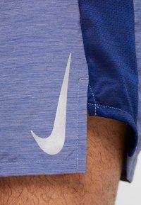 Nike Performance - CHALLENGER SHORT - Pantalón corto de deporte - blue void/heather/silver - 6