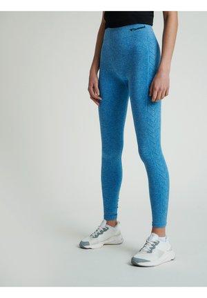 HMLCI  - Leggings - mykonos blue melange