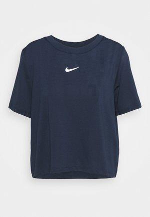 Basic T-shirt - obsidian/white