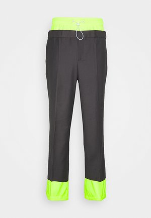 UNISEX LAYER TROUERS - Trousers - grey