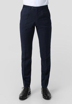 NOS CITY  - Suit trousers - navy