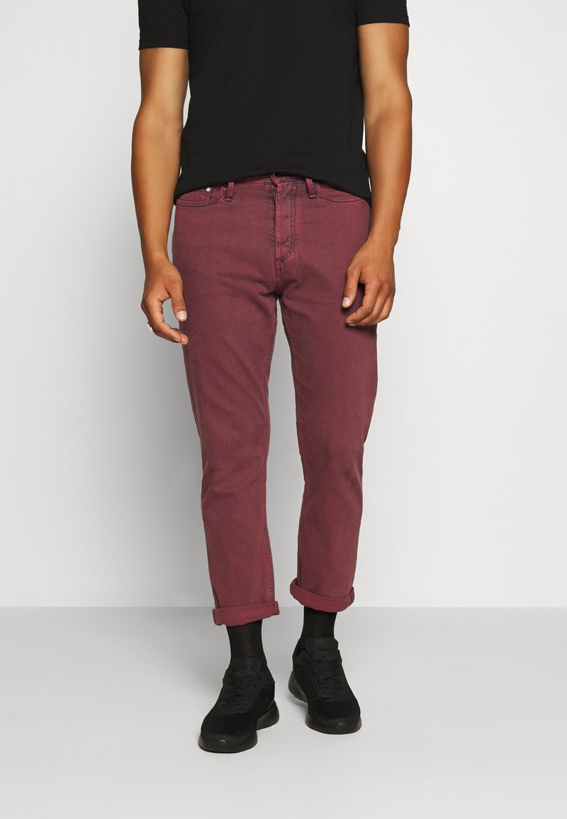 Denham - CROP - Relaxed fit jeans - rosewood