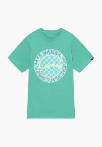 AUTISM AWARENESS BOYS - Print T-shirt - dusty jade green