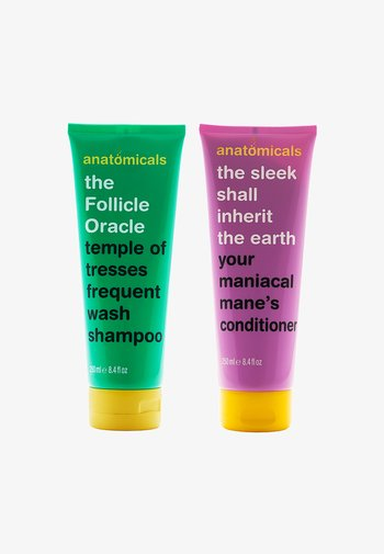 FOLLICLE ORACLE SHAMPOO 250ML + SLEEK HAIR CONDITIONER 250ML