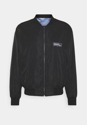 COOMBE REVERSIBLE UNISEX - Bomber Jacket - black/blue