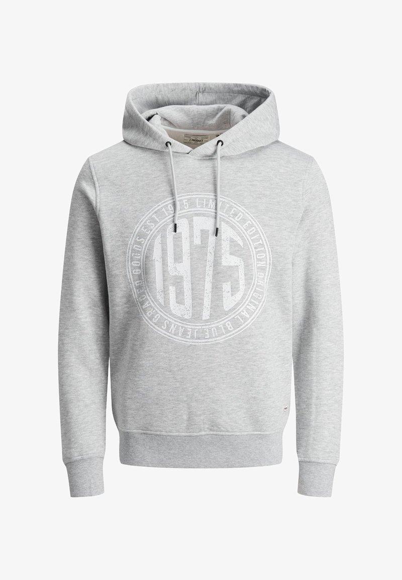 Produkt KLASSISCHER - Kapuzenpullover - light grey melange/hellgrau gFXS2c