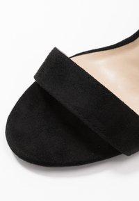 Glamorous Wide Fit - Sandały na obcasie - black - 2