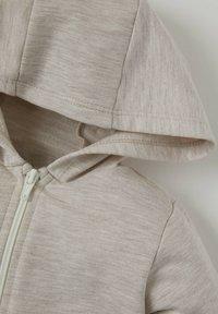 DeFacto - Zip-up sweatshirt - ecru - 2
