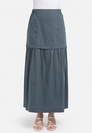 Maxi skirt - dunkel grun