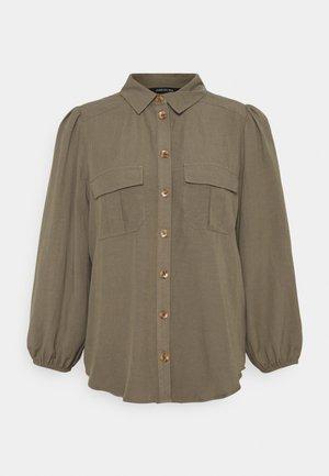 UTILITY SHIRT - Camisa - dark khaki