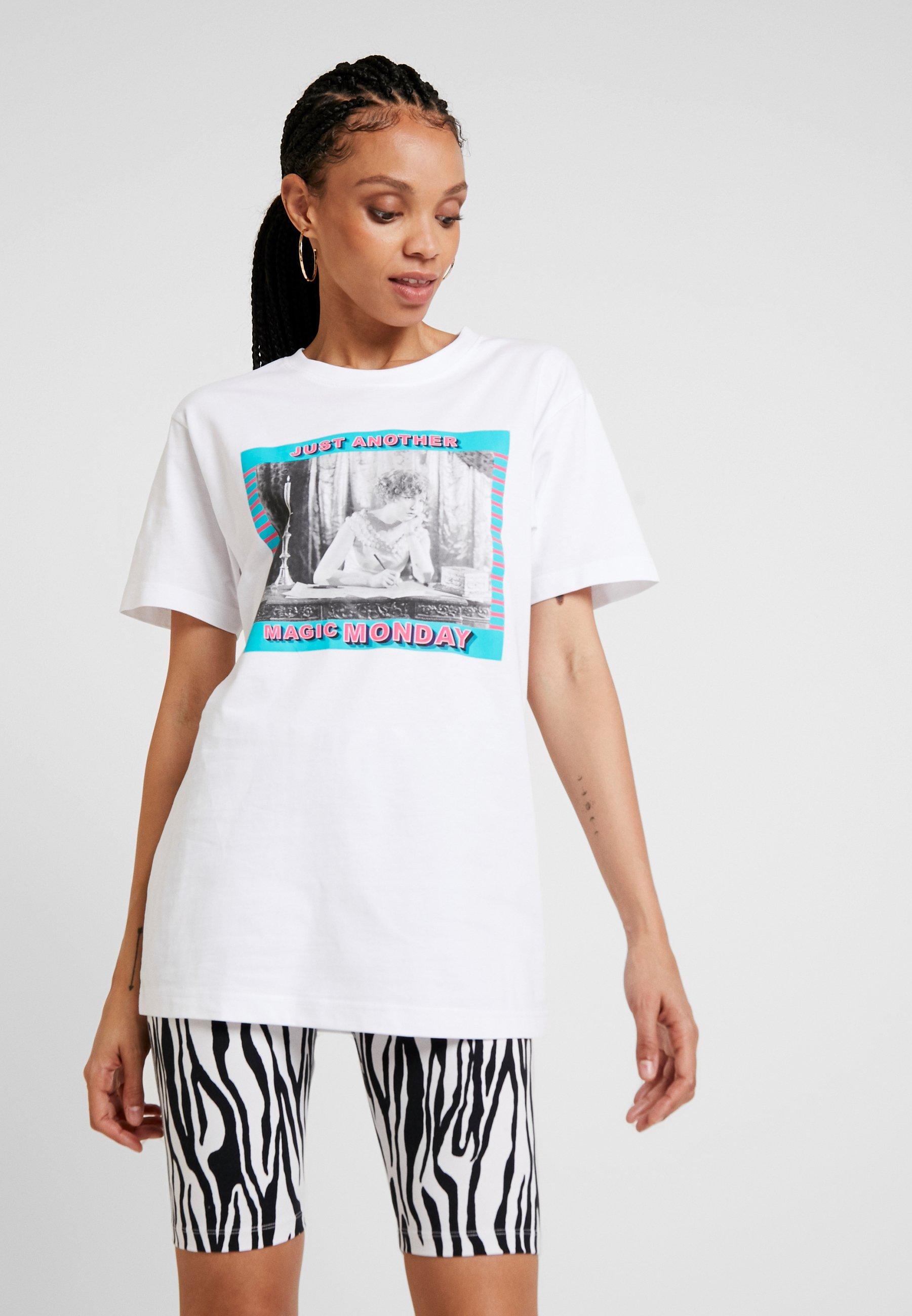 Damen LADIES MAGIC MONDAY TEE - T-Shirt print