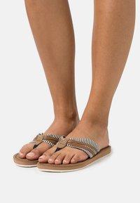 TOM TAILOR - T-bar sandals - navy - 0